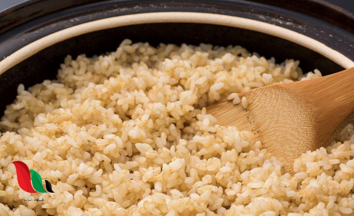 ماذا يحدث إذا أكلت الأرز البني كل يوم؟