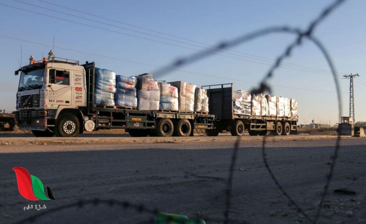 تعرف على قيمة بضائع القطاع الخاص التي تمنع إسرائيل إدخالها لغزة