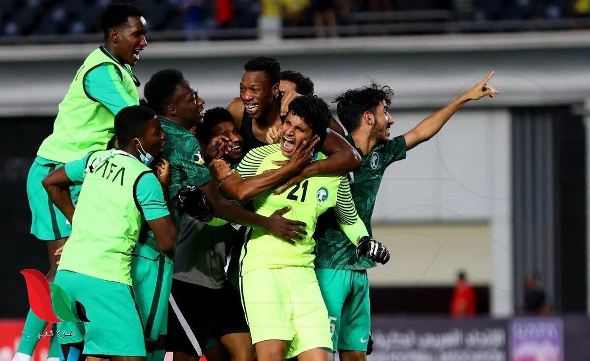 جدول مباريات كاس العرب للشباب 2021