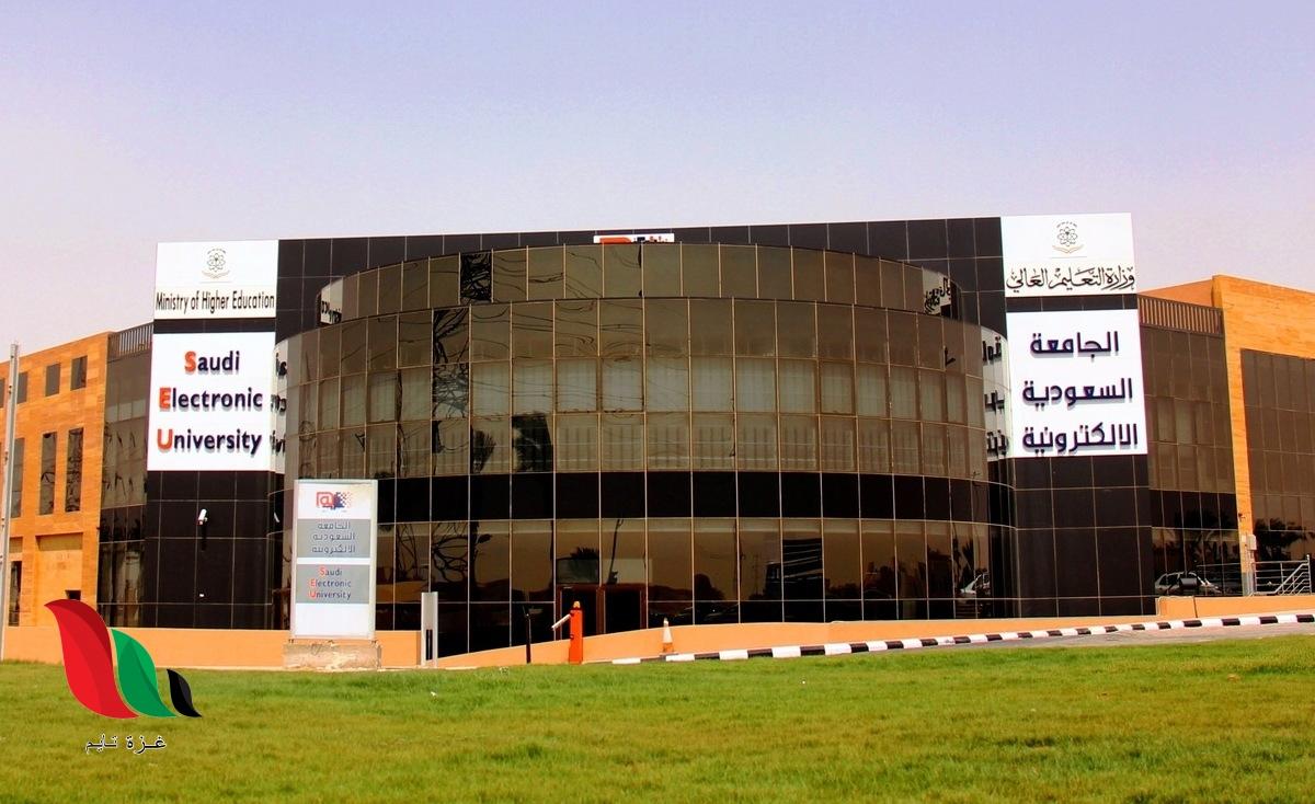 ما هي تخصصات الجامعة الالكترونية السعودية ؟