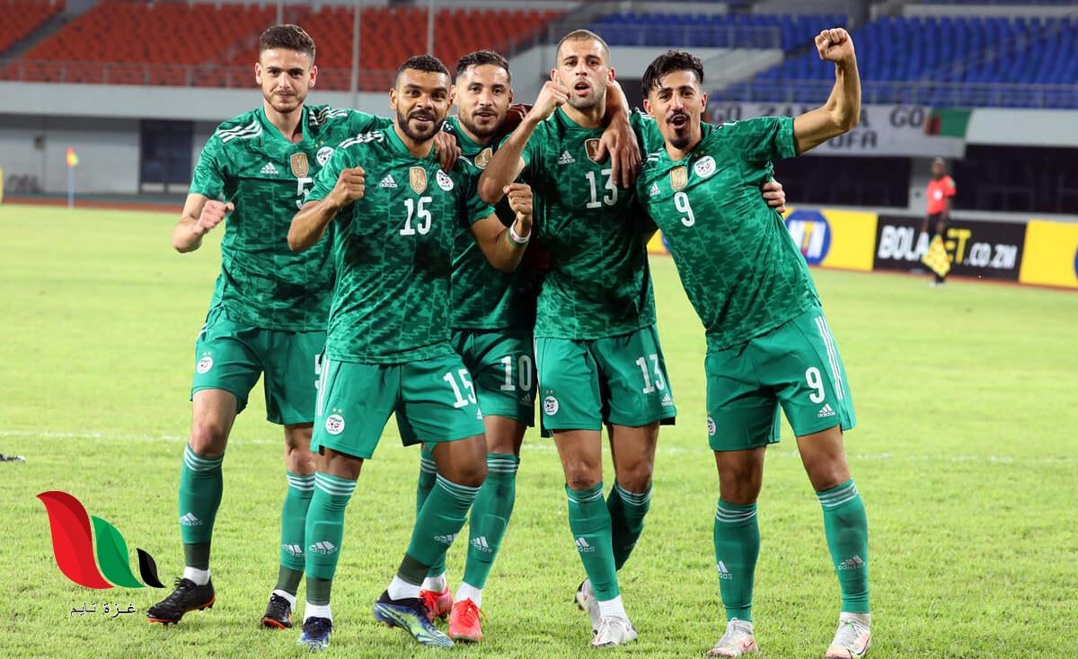 القنوات الناقلة لمباراة الجزائر ضد بوركينا فاسو في تصفيات كأس العالم