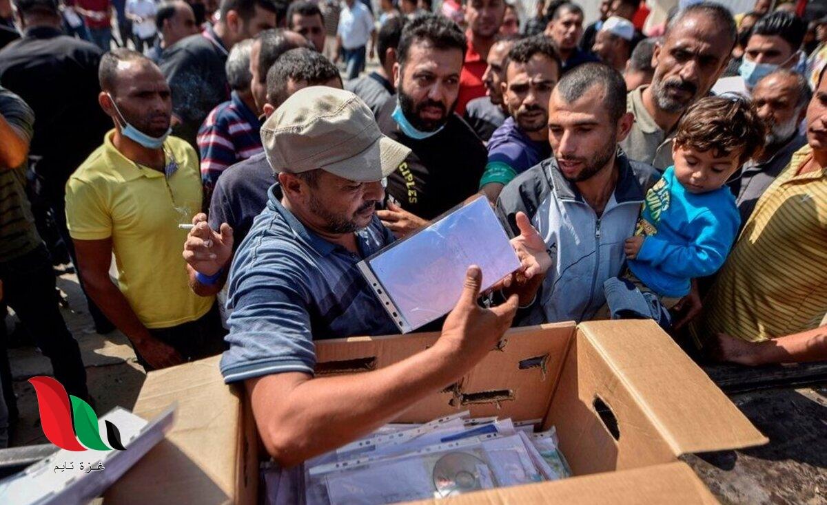 آخر أخبار تصاريح التجار في غزة 2021 إلى اسرائيل