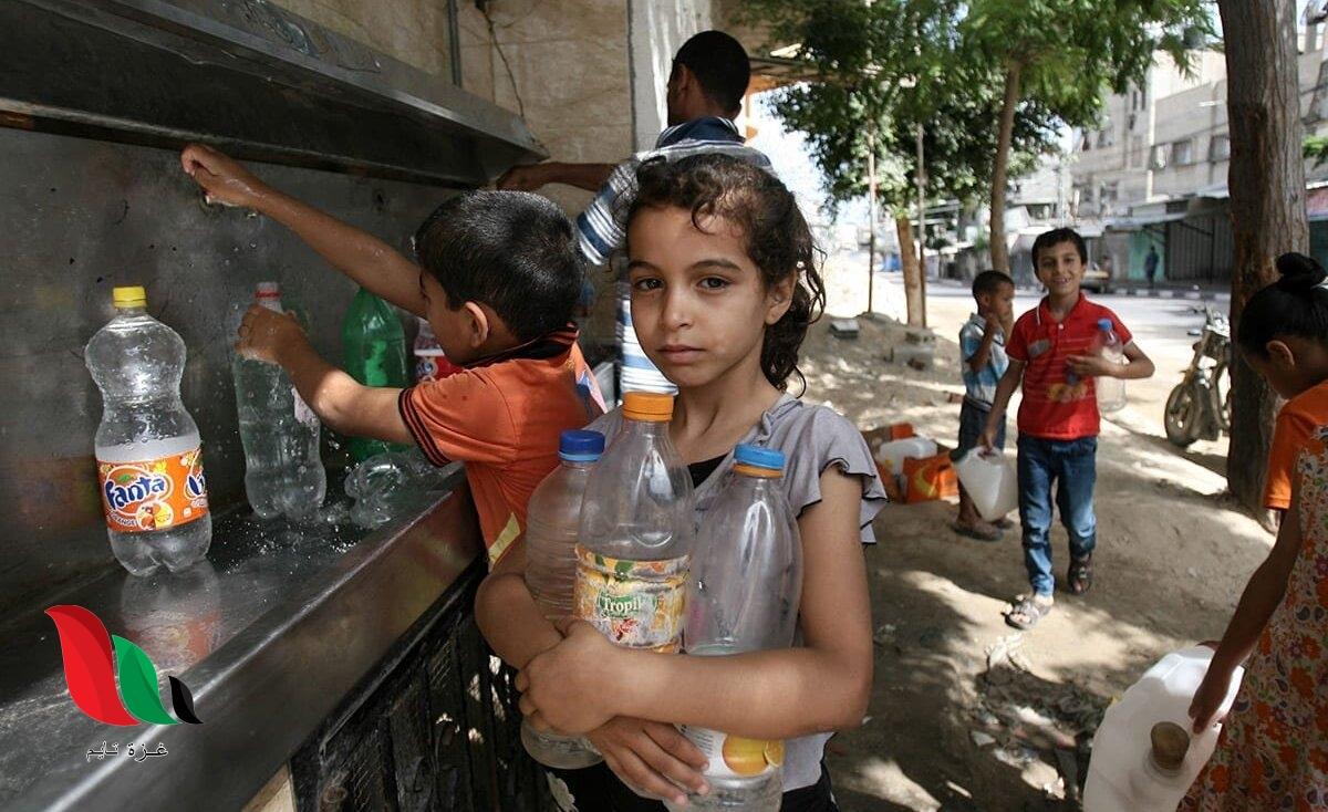 يتسمّمون ببطء .. 97% من مياه غزة غير صالحة للشرب