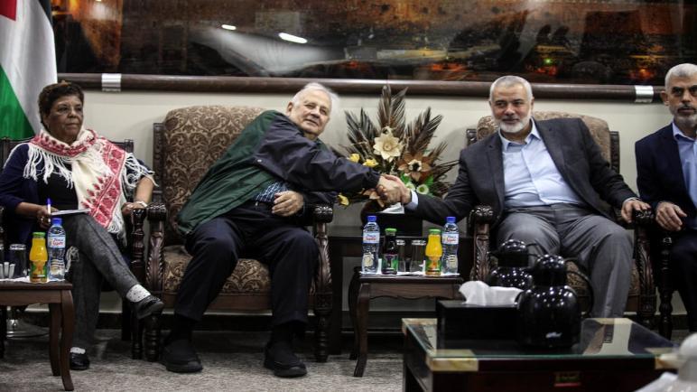 حنا ناصر: سائرون للانتخابات بتوافق جميع القوى والفصائل