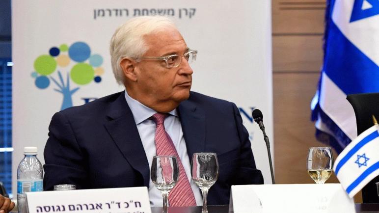 فريدمان لإسرائيل: إذا لم يكن لديك حكومة فستضيع الفرص
